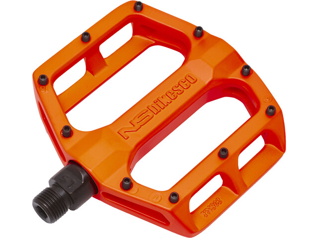 NS Bikes Aerial Pedals Loose ball fluo orange